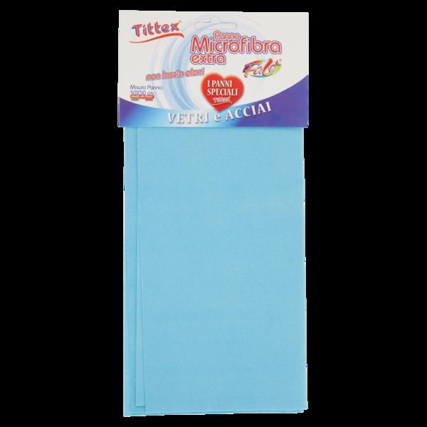 TITTEX Panno Pulizia VETRI Blu Extra/_38X40 cm/_10 pz