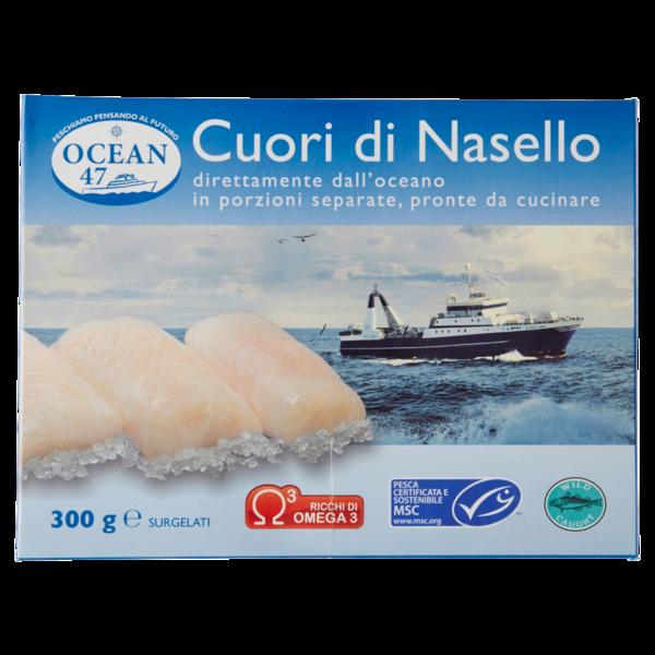Ocean 47 Cuori Di Nasello Surgelati 300 G Compra Online Cosicomodo