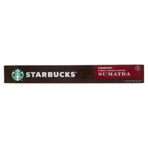 STARBUCKS SINGLE-ORIGIN SUMATRA BY NESPRESSO Caffè Espresso 10 Capsule