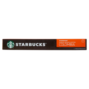 STARBUCKS SINGLE-ORIGIN COLOMBIA BY NESPRESSO Caffè Espresso 10 Capsule