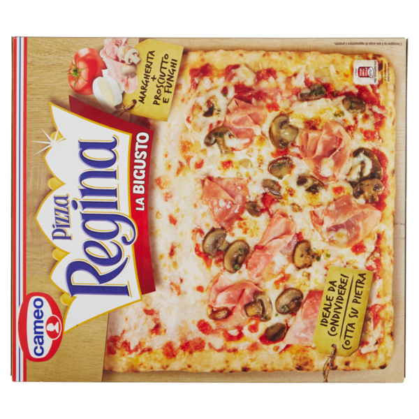 Cameo Pizza Regina La Bigusto Margherita Prosciutto E Funghi 500 G Compra Online Cosicomodo
